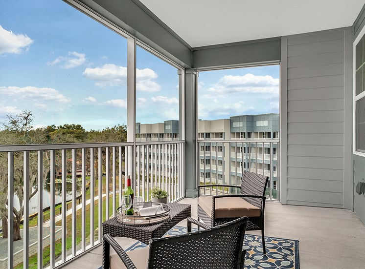 WaterVue at Longwood Apartments for rent in Longwood, FL. Make this community your new home or visit other Concord Rents communities at ConcordRents.com. Lake view single suite living room