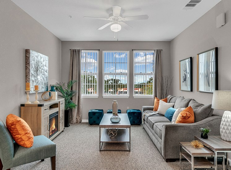 WaterVue at Longwood Apartments for rent in Longwood, FL. Make this community your new home or visit other Concord Rents communities at ConcordRents.com. Living room