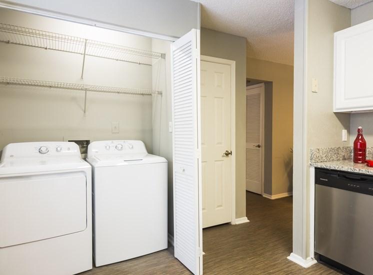 Full-Size Washer & Dryer