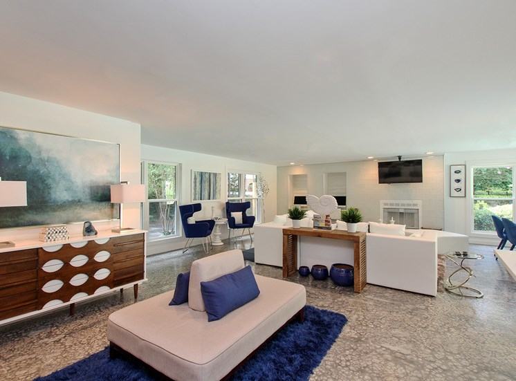 Clubhouse The Addison at Sandy Springs Apartment Homes
