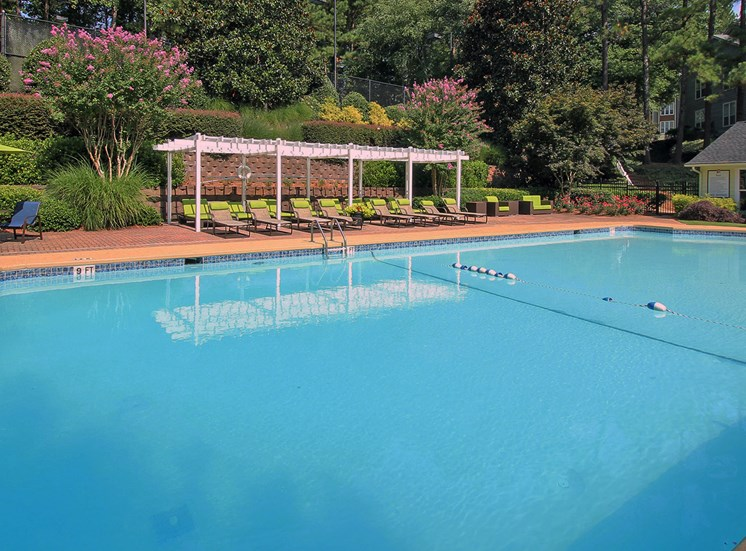 Swimming Pool Sundeck The Addison at Sandy Springs Apartment Homes