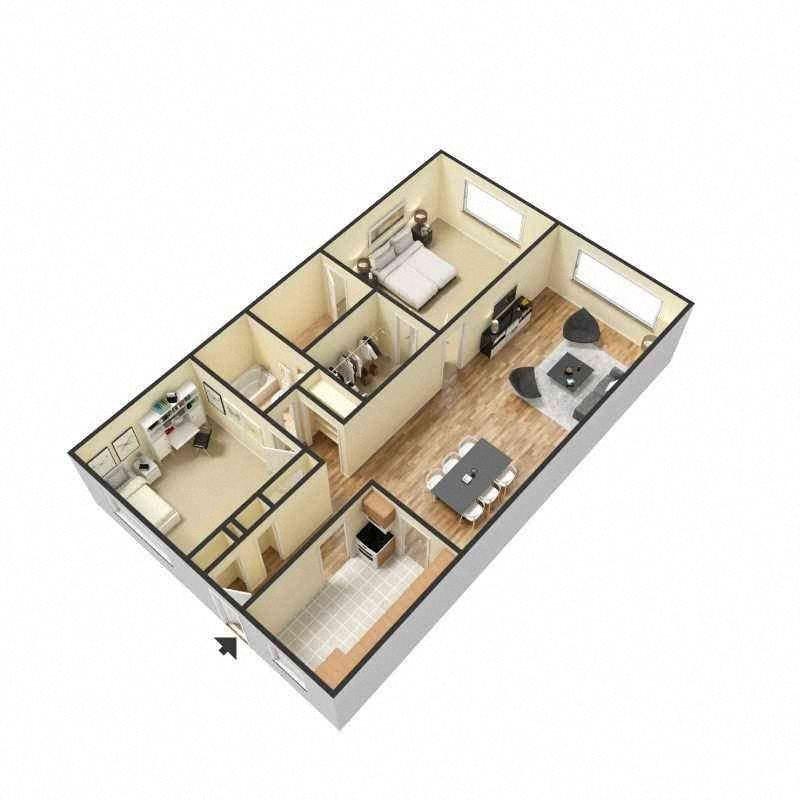 Miami Gardens Apartments: Floor Plans Of Crystal Lake Apartments In Miami Gardens, FL