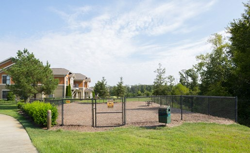Dog Park at Apartments at Blakeney in Charlotte NC