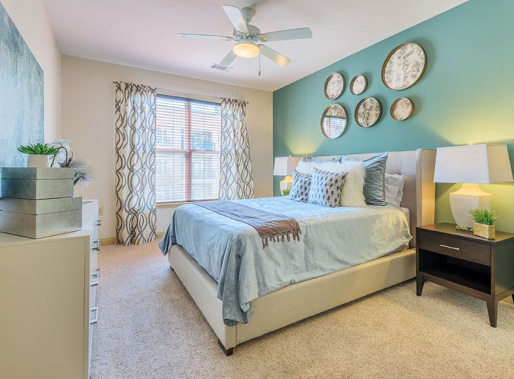 Bedroom at Apartments at Arboretum in Cary, NC