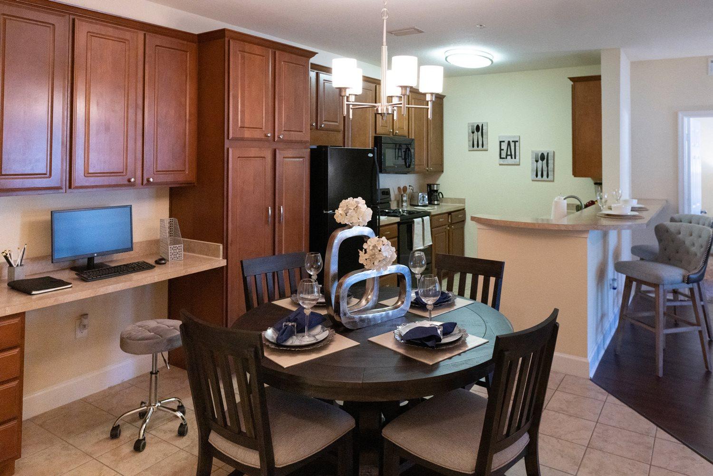 Kitchen at Cypress Pointe Apartments in Orange Park, FL