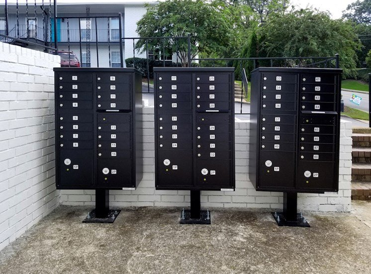 three new banks of mailboxes at The Murals on Niazuma