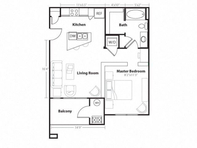 Granite Floor Plan 1