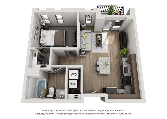 1A- Cleveland Floor Plan 13