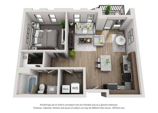 1C- Cleveland Floor Plan 15