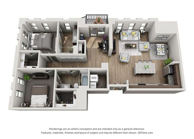 2E- Cleveland Floor Plan 24