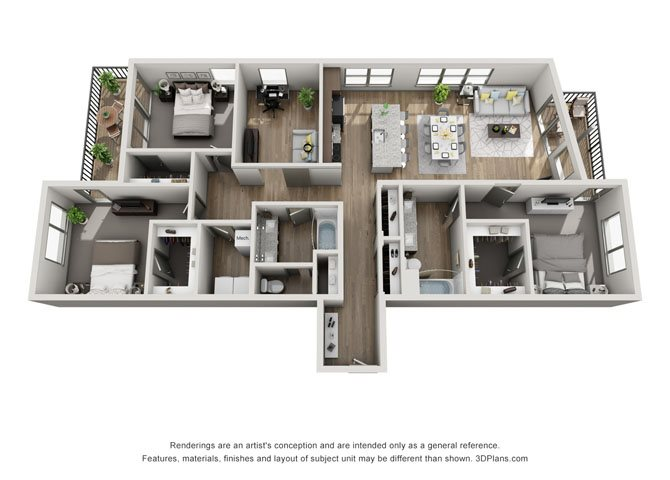 3A- Cleveland Floor Plan 25