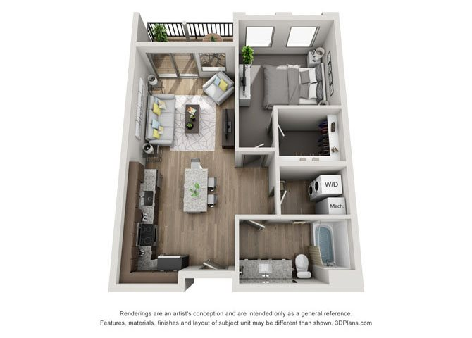 1A- Lincoln Floor Plan 3