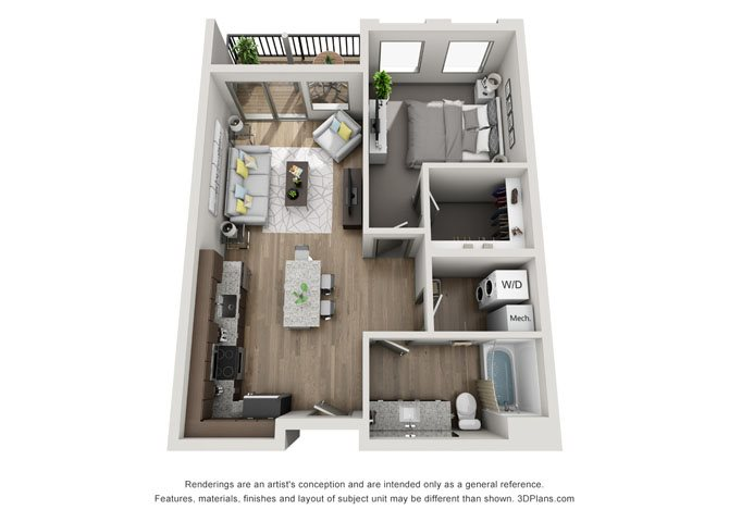 1C- Lincoln Floor Plan 5