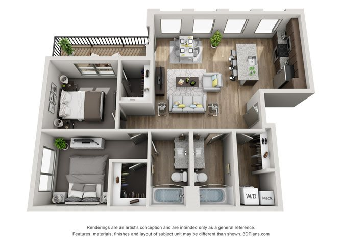 2A- Lincoln Floor Plan 7