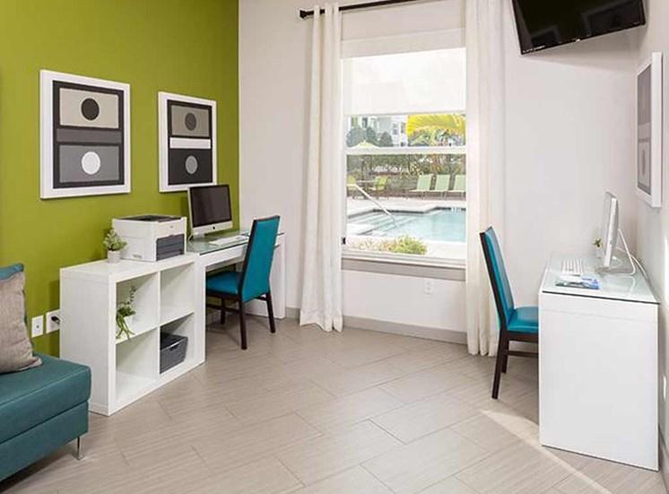 Living space at Arbor Walk Apartments in Tampa, FL