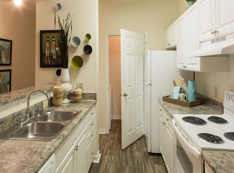 Kitchen at Arbor Walk Apartments in Tampa, FL