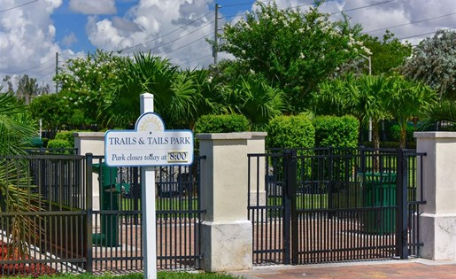 Enjoy a short walk to the new city dog park at Doral West Apartments