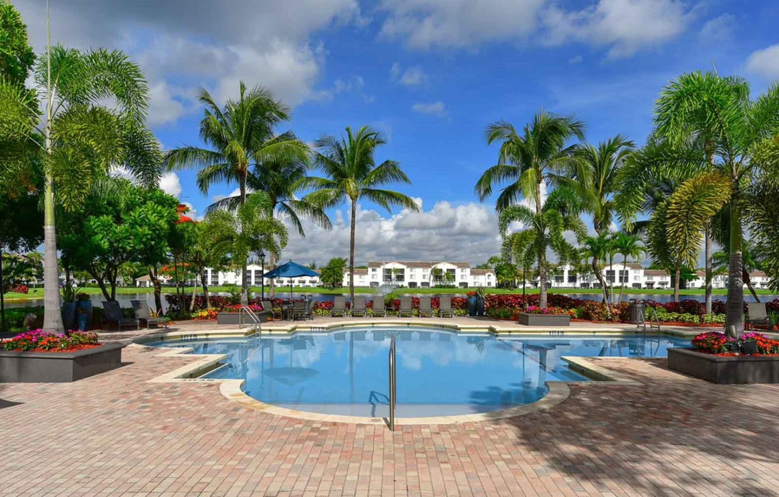 Pool at Doral West Apartment Homes in Doral, FL