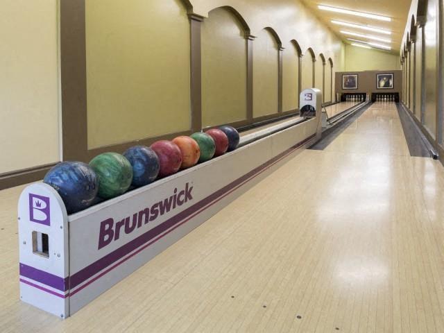 Bowling alley at Marela apartments in Pembroke Pines, Florida