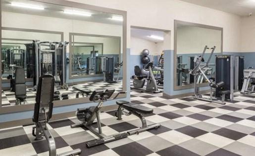 Cardio equipment at Marela apartments in Pembroke Pines, Florida