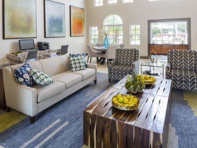 Relaxing clubhouse at Marela apartments in Pembroke Pines, Florida