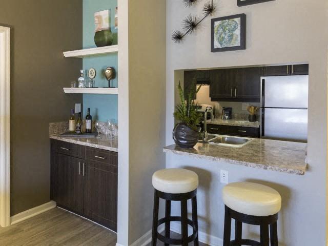 Built-in at Marela apartments in Pembroke Pines, Florida