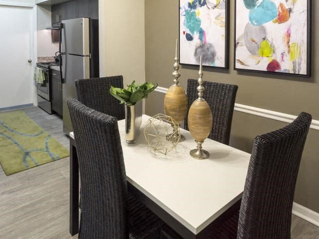 Eat in kitchen at Marela apartments in Pembroke Pines, Florida