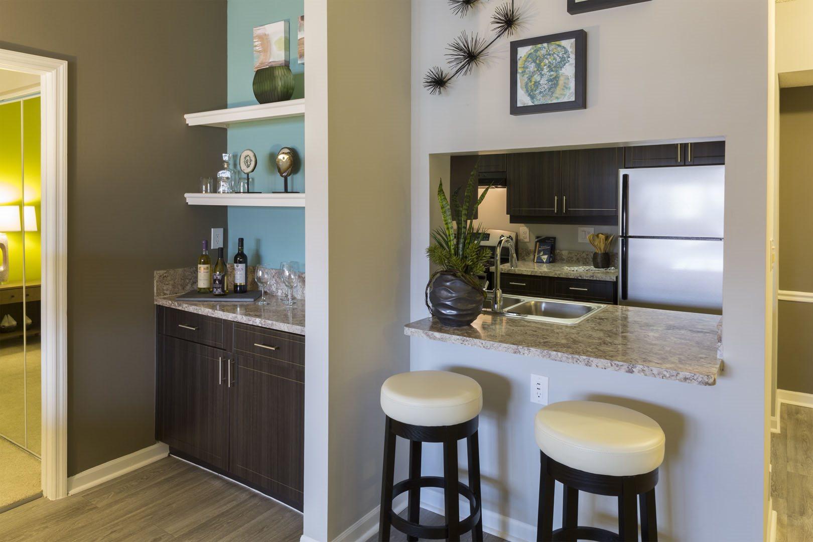 Built ins at Marela Apartments in Pembroke Pines FL