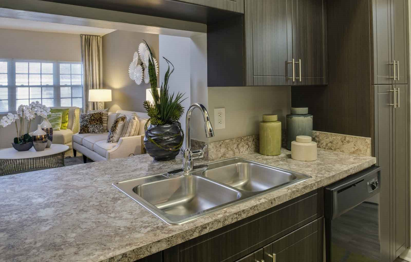 Kitchen at Marela Apartments in Pembroke Pines, FL