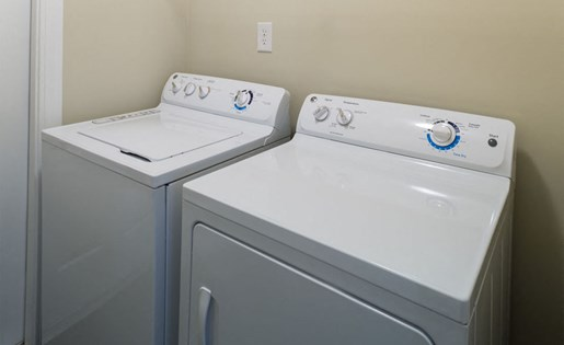 Full size washer dryers Park at Crossroads Apartments in Cary, NC