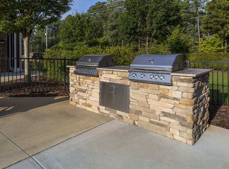 Grills Park at Crossroads Apartments in Cary, NC