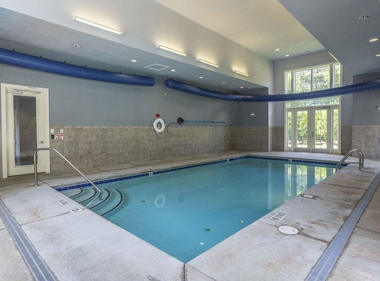 Indoor pool Park at Crossroads Apartments in Cary, NC