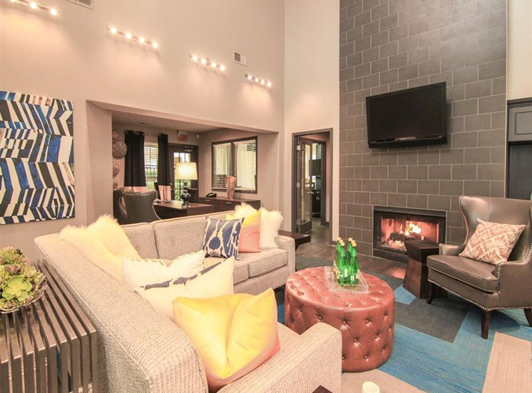Resident clubhouse at Reafield Village Apartments in Charlotte, NC