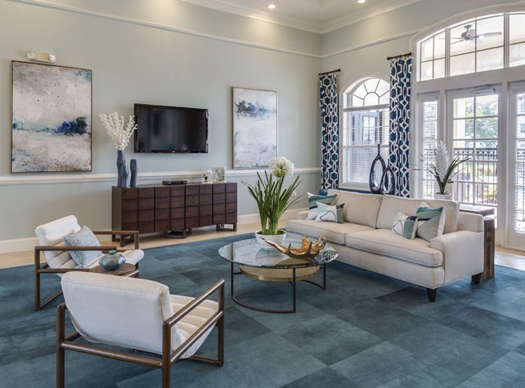 Clubhouse at Vista Lago Apartments in West Palm Beach, Florida
