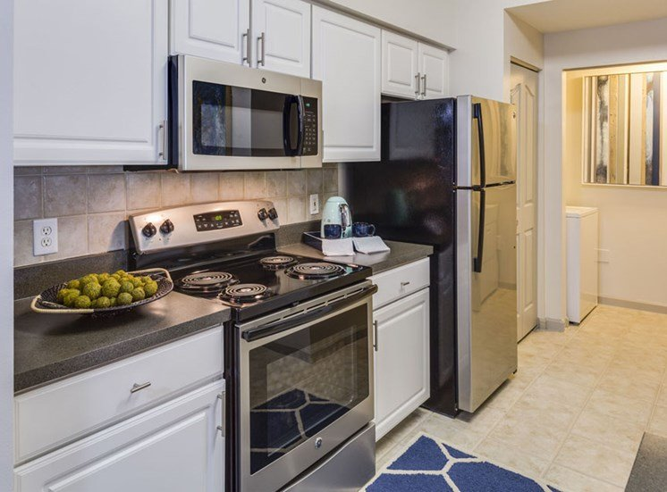 Kitchen at Vista Lago Apartments in West Palm Beach, Florida