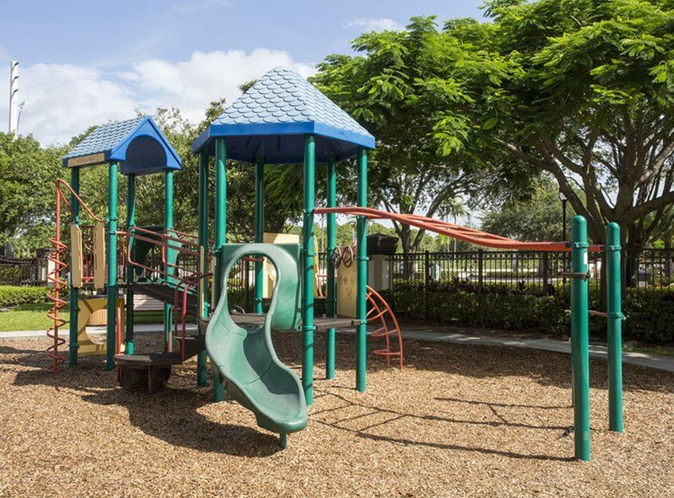 Playground at Vista Lago Apartments in West Palm Beach, Florida