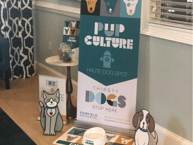 Pup culture at Vista Lago in West Palm Beach, Fl