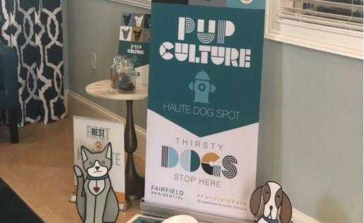 Pup culture at Vista Lago in West Palm Beach, Fl