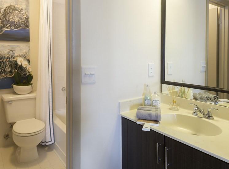 Bathroom at Water's Edge in Sunrise, FL