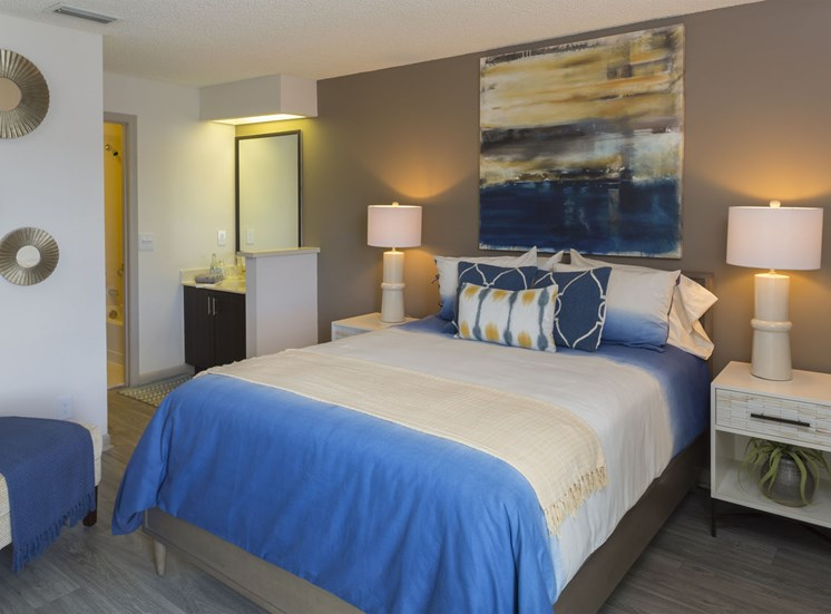 Bedroom at Water's Edge in Sunrise, FL
