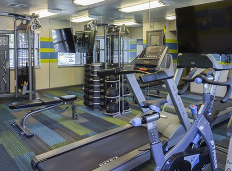 Fitness Center at Water's Edge in Sunrise, FL