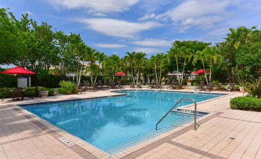 Pool at Waterstone at Wellington Apartments in Wellington, Florida