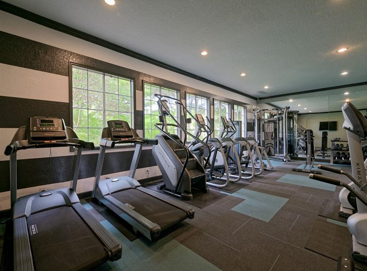 Fitness center at Waterstone at Wellington Apartments in Wellington, Florida