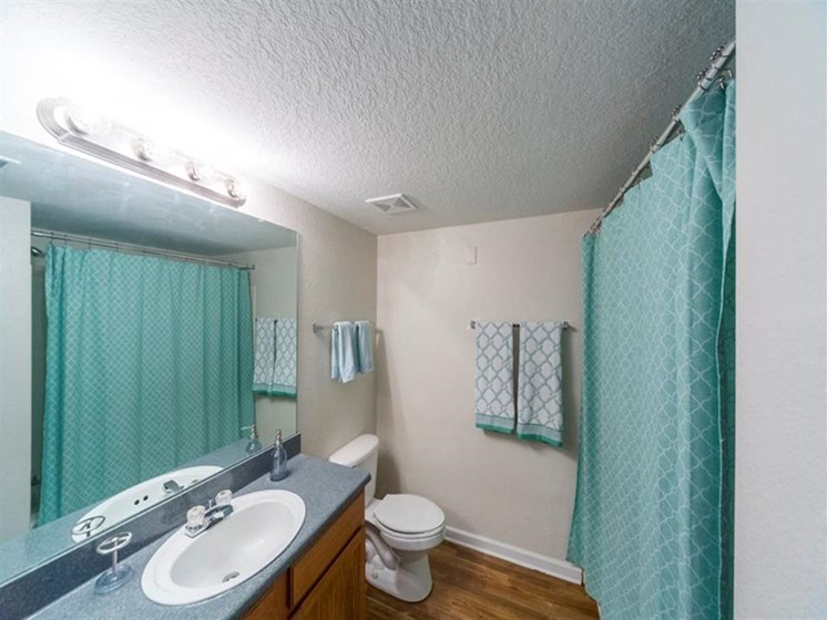 Bright Bathroom at Madelyn Oaks