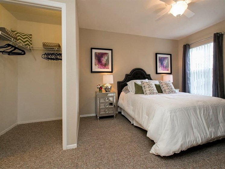 Bedroom with Walk In Closet at Hatteras Sound