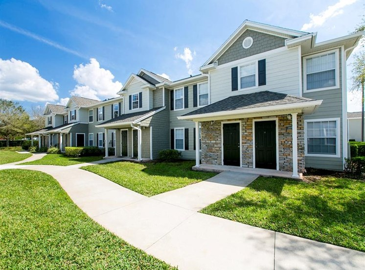 Apartment Home Building Exterior at Hatteras Sound