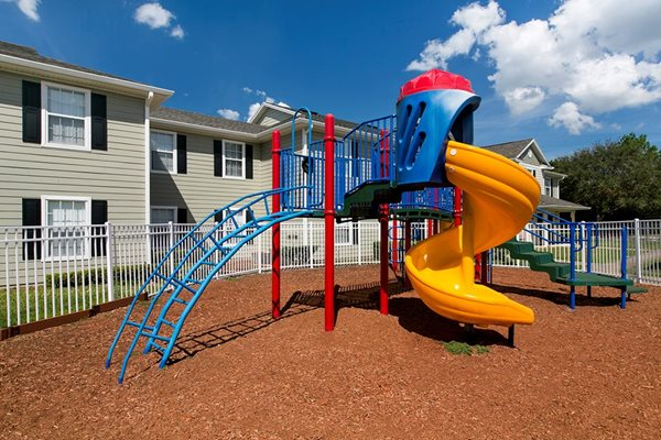 Outdoor Green Space with Playground