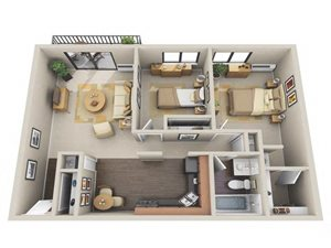 Floor plan at Willow Crossing, Elk Grove Village, 60007