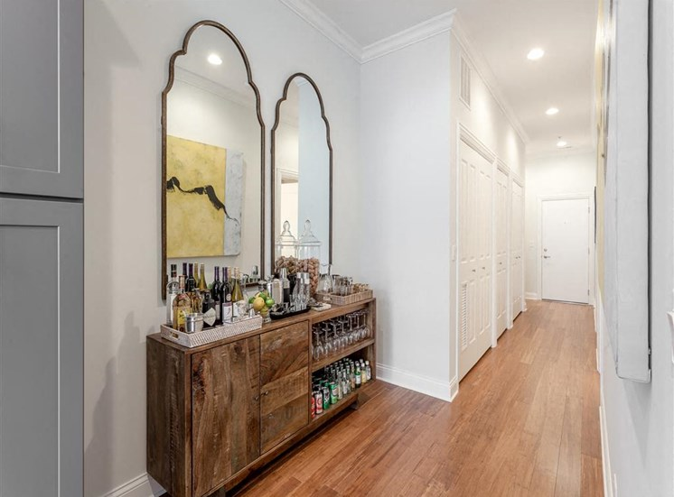 Bamboo Floors Throughout