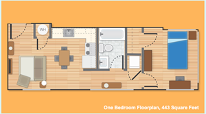One Bedroom Option A